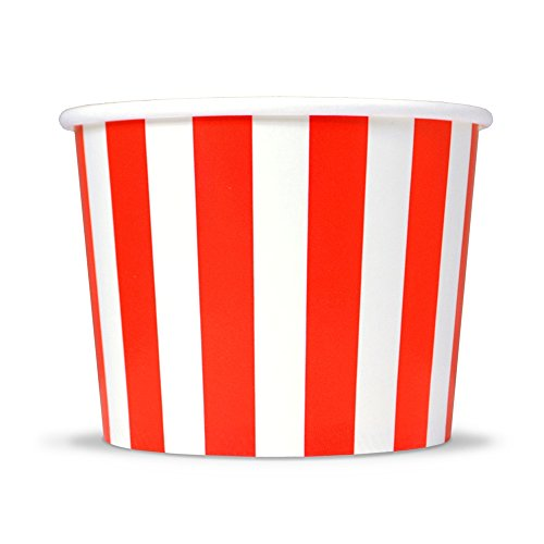 red and white ice cream cups - 1