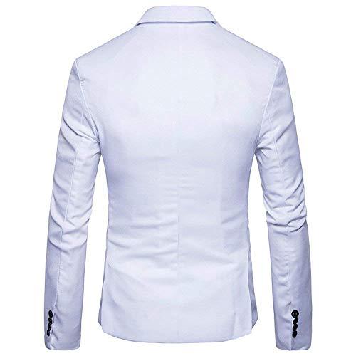 À Solide Longues Air De Manches Rouge Robe Automne Costume Plein Veste Soirée Couleur Hommes Vêtements Des Porter qw8vxP