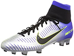 Nike Mercurial Victory Vi Df Njr Neymar Jr Fg Men Soccer Cleats -Racer Blue Size: 10.5