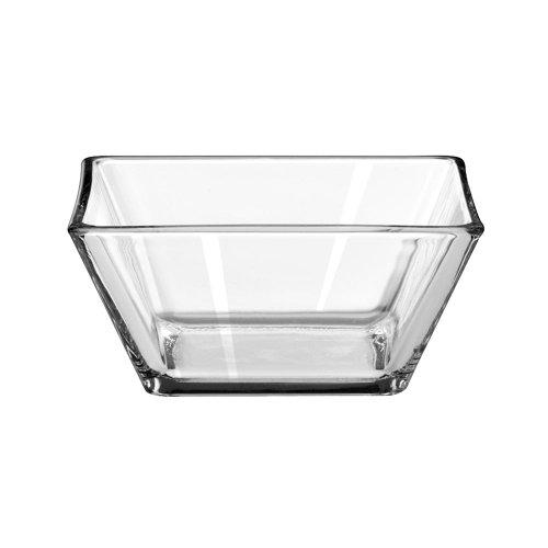 (Libbey Tempo Square Bowl, 4.25 inch Diameter - 12 per case.)
