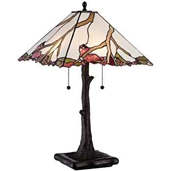 Robert Louis Tiffany Cherry Blossom Art Glass Table Lamp Amazon Com