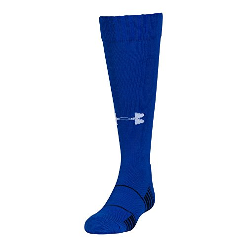 Under Armour Team Over The Calf Socks, 1-Pair, Royal/White, Youth Large