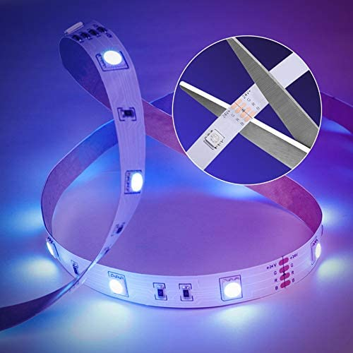 MINGER Led Strip Lights 65.6ft, Color Changing Light Strips with Remote, 20 Preset Colors and six DIY Colors, 600 Bright Led Lights, Back Adhesive, Flexible for Room, Bedroom, Living Room, Ceiling