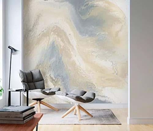Splash Colorful Room Wall: Amazon.com: Murwall Marbling Wallpaper Soft Brush Wall