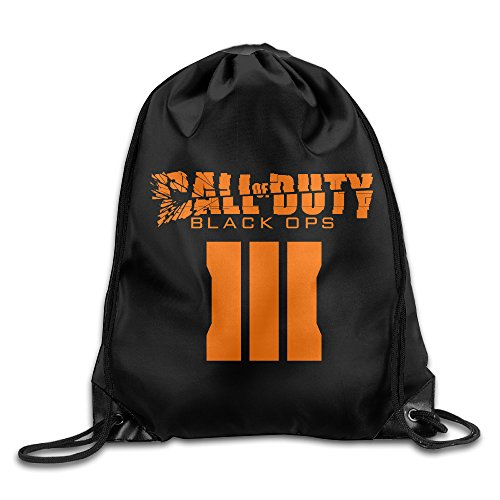 Price comparison product image Chocy Call Of Duty First-Person Shooter Video Game Golf White Drawstring Backpack White