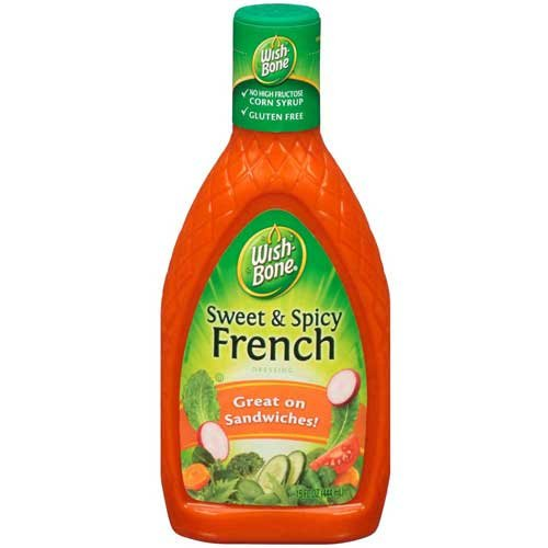 Wish Bone Sweet and Spicy French Dressing, 15 Fluid Ounce -- 6 per case.