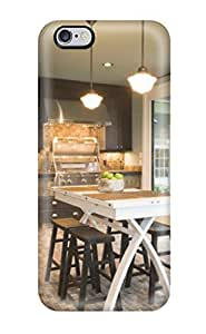 Ideal ElsieJM Case Cover For Iphone 6 Plus(built-in Wine Storage Shelving In Gray Contemporary Kitchen), Protective Stylish Case