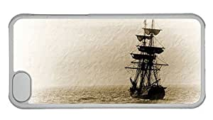 Hipster cassette for iphone 6 plus 5.5 cases Sailboat Art PC Transparent for Apple for iphone 6 plus 5.5