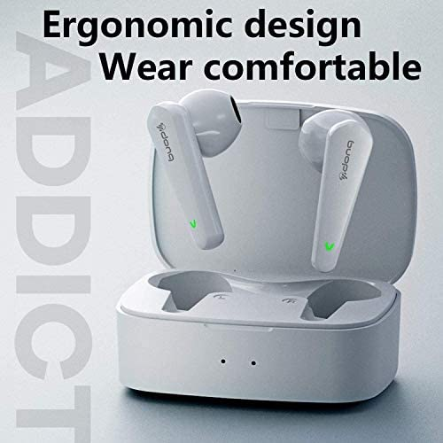 Wireless Earbuds,Air Pods Bluetooth 5.0 Headphones IPX5 Waterproof Earbuds with 24Hrs Mini Charging Case, 3-d Stereo Headsets in-Ear Built in Mic Headset, Compatible with iPhone and Android