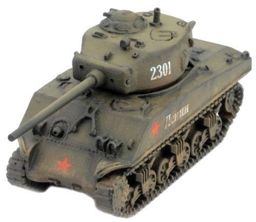 Soviet: M4 76mm 76mm M4 (M4A2 Sherman) by Battlefront Miniatures 289e9d
