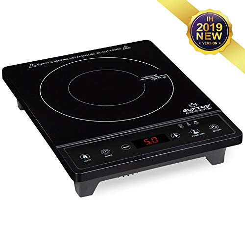 Duxtop Portable Induction Cooktop, Induction Cooker 1800W Countertop Burner, 8500ST