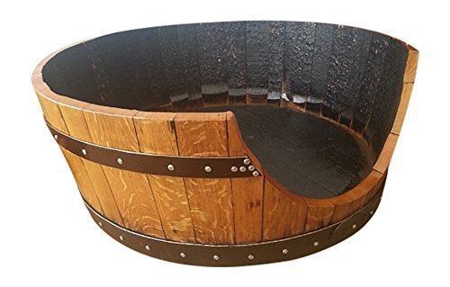 handmade-solid-oak-wood-whisky-barrel-wooden-cask-unique-medium-dog-or-cat-bed