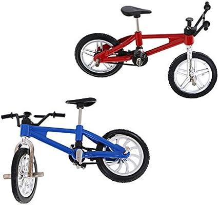 sharprepublic Aleación De Deporte Extremo Dedo Bicicleta Mini Modelo De Bicicleta De Montaña para Juguete Chico Cool: Amazon.es: Juguetes y juegos