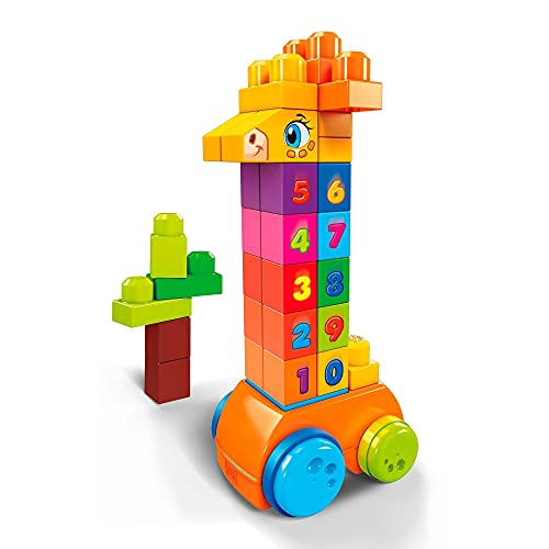 Mega Bloks Count  amp; Bounce Giraffe