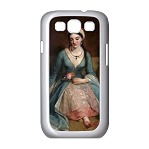 Samsung Galaxy S3 9300 Cell Phone Case White Greek Art V8412833