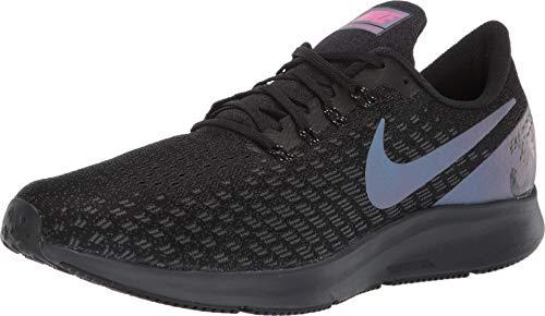 (Nike Men's Air Zoom Pegasus 35 Running Shoes, Black/Laser Fuchsia-Anthracite (US 10.5))