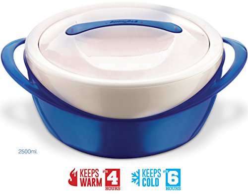 Pinnacle Casserole Dish – Large Soup and Salad Bowl – Insulated Serving Bowl With Lid
