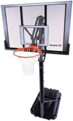 Amazon Com Lifetime Reebok 52 Inch Xl Portable Basketball System Portable Basketball Backboards Sports Outdoors