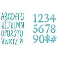 Big Shot Sizzix 661040, Alfabeto Lettere