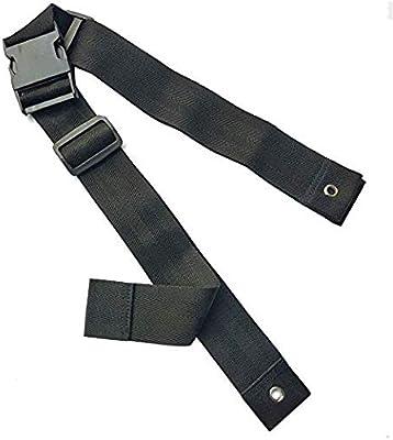 Cinturón para silla de ruedas, correa de seguridad con hebilla ...