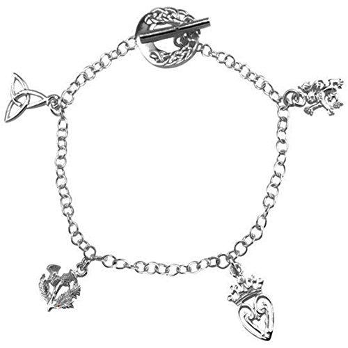 Bracelet à breloques en argent Alba '