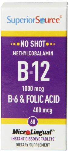 Superior Source Methylcobalamin Vitamin Tablets product image