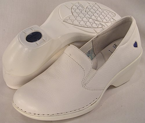 NURSEMATES TERRY WHITE COMFORT SHOES - GREAT FOR NURSES OR SUMMER