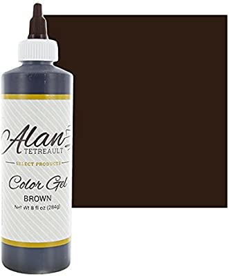 Amazon.com : Brown Premium Food Color Gel, 10-1/2 Ounces (8 Fl. Oz ...