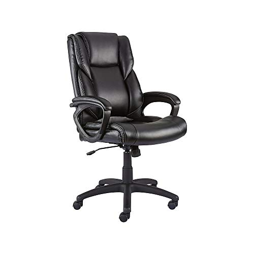 Staples 2554455 Kelburne Luxura Office Chair - Leather Staples Chair