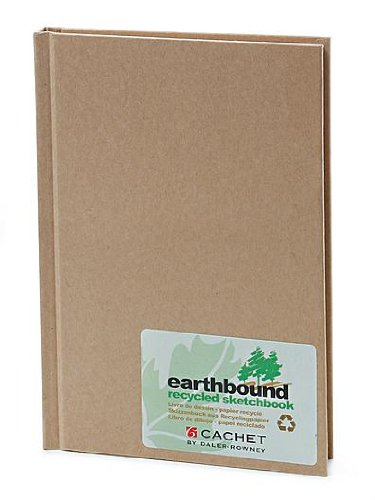 Earthbound Sketchbook - Cachet Earthbound Sketch Books 5 1/4 in. x 8 1/4 in. [PACK OF 2 ]
