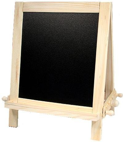 Table Easel W/chalk & Dry Erase Boards ~Display ,New! by NicoleCrafts