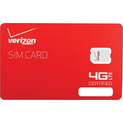 Verizon Wireless LTE Nano Card