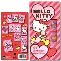 Großartig 1 X Sanrio Hello Kitty 27 Hologram Lenticular Valentines Day Cards
