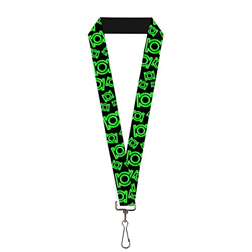 Buckle-Down Lanyard - Green Lantern