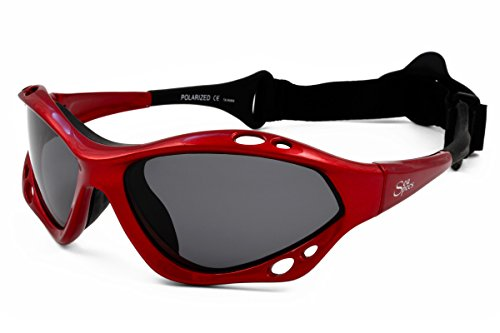 Jet Polarized Lens - SeaSpecs SunFire Red Extreme Sea Specs Sunglasses