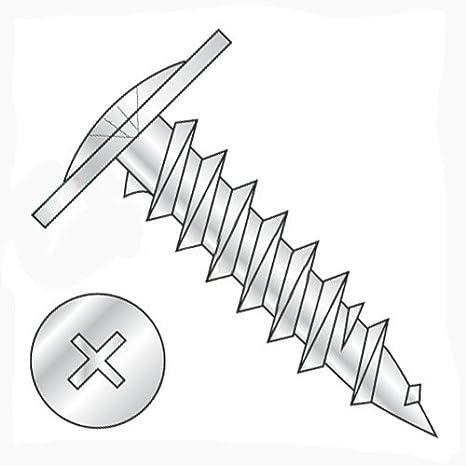 "#8-15 x 1/"" Coarse Drywall Screw Twinfast Phil K-Lath Zinc Plated FT"
