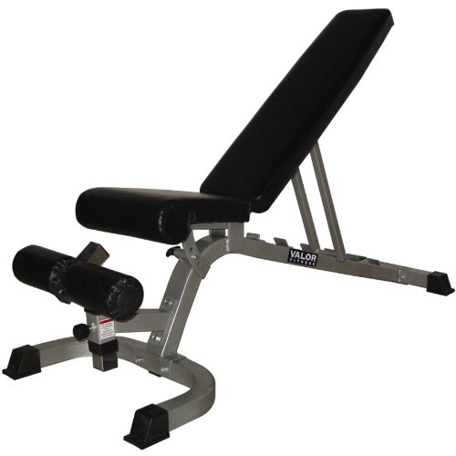 Valor Fitness DD-4 Flat Incline Decline FID Adjustable Utility Bench by Valor Fitness