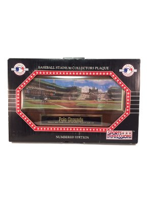 Sport Impression's Polo Grounds Baseball Stadium Collectors Plaque (New) Numbered Edition