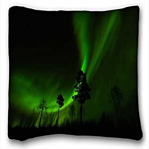 Custom Characteristic Nature Custom Cotton & Polyester Soft Rectangle Pillow Case Cover 16x16 inches (One Side) suitable for Twin-bed
