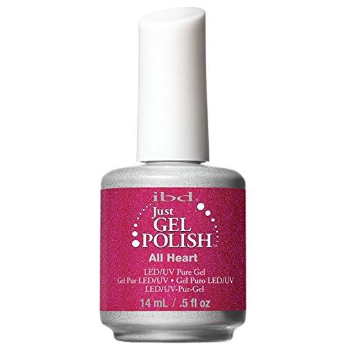 IBD Just Gel Nail Polish, All Heart, 0.5 Fluid Ounce