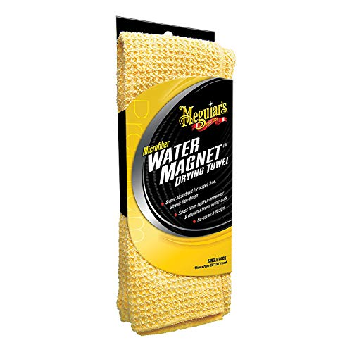 - Meguiar's X2000 Water Magnet Microfiber Drying Towel, 1 Pack