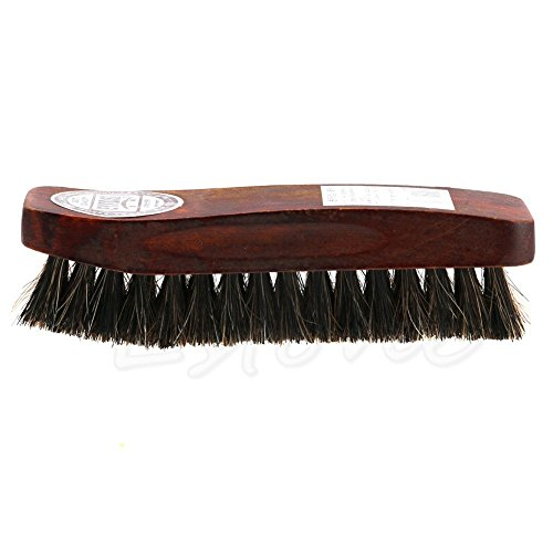 Decor Horsehair - Gold Happy Horse Hair Professional Shoe Shine Polish Buffing Brush Wooden
