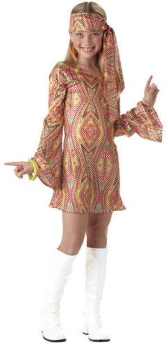 Dolly Child Disco (Disco Dolly Child Costume Red - X-Large)
