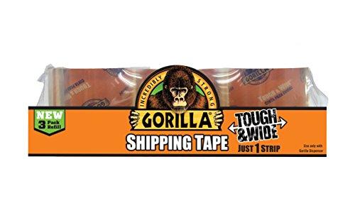 Gorilla Packaging Tape Tough Refill