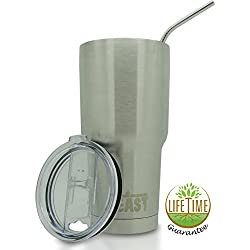 Stainless Steel Vacuum Insulated Rambler Coffee Cup Double Wall