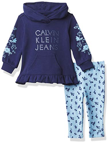 Calvin Klein Baby Girls' 2 Pieces Leggings Set
