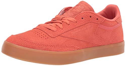 Reebok Women's Club C 85 Sneaker Stellar Pink/Gum 11 M - 100% Leather Club