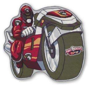 Power Rangers Tapis Pour Enfant Motif Moto Rouge Amazon Fr Cuisine