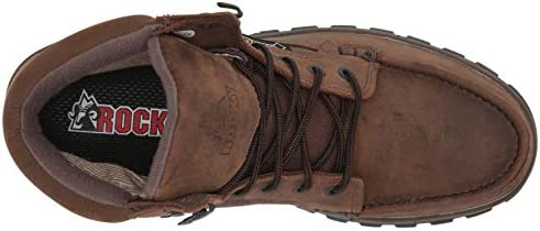 Rocky Men's FQ0008723 Hiking Boot, Light Brown, 4 W US