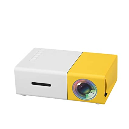 Amazon.com: ZUEN Mini LCD LED Projector 400-600LM 1080P ...